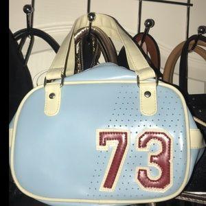 Handbags - Cute mini vintage varsity hand bag